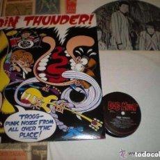 Discos de vinilo: GROIN THUNDER MIRACLE WORKERS BEVIS FROND DEVIL DOG ROY LONEY DOBLE LP(DOG MEAT -1992)OG AUSTRALIA. Lote 103538539