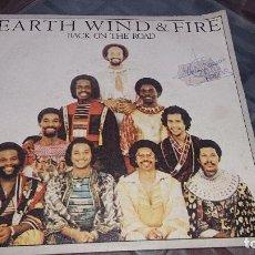 Discos de vinilo: EARTH WIND & FIRE BACK ON THE ROAD. Lote 103540179