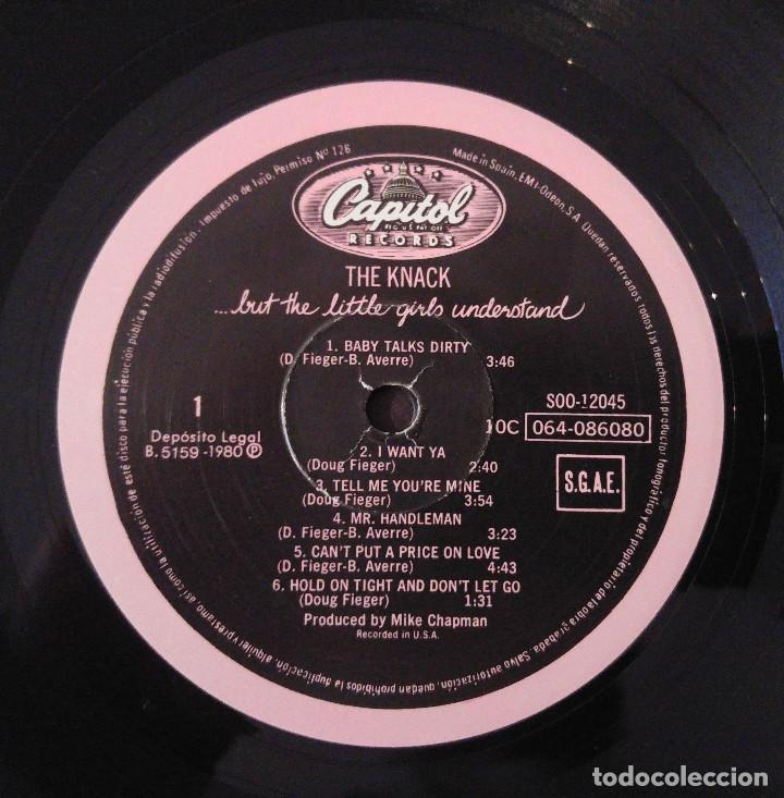 Discos de vinilo: The Knack.....But The Little Girls Understand.(EMI-Odeon, S.A. 1980).Spain. - Foto 5 - 103540439