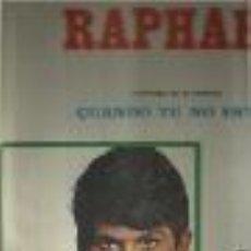 Discos de vinilo: RAPHAEL LP SELLO HISPAVOX EDITADO EN COLOMBIA. Lote 103544895