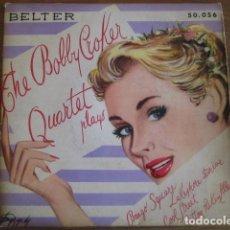 Discos de vinilo: BOBB CROKER QUARTET - BONGO SQUARE + 3 *********** RARO EP ESPAÑOL PIANO JAZZ 1956. Lote 103545119
