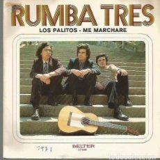 Discos de vinilo: RUMBA TRES SINGLE SELLO BELTER EDITADO EN ESPAÑA AÑO 1971. Lote 103545847