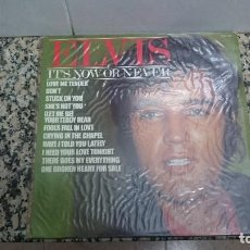 Discos de vinilo: DISCO ELVIS ITS NOW OR NEVER. Lote 103555211