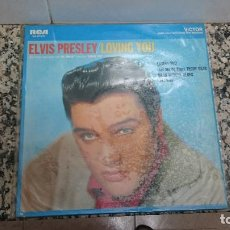 Discos de vinilo: DISCO ELVIS PRESLEY LOVING YOU. Lote 103556463