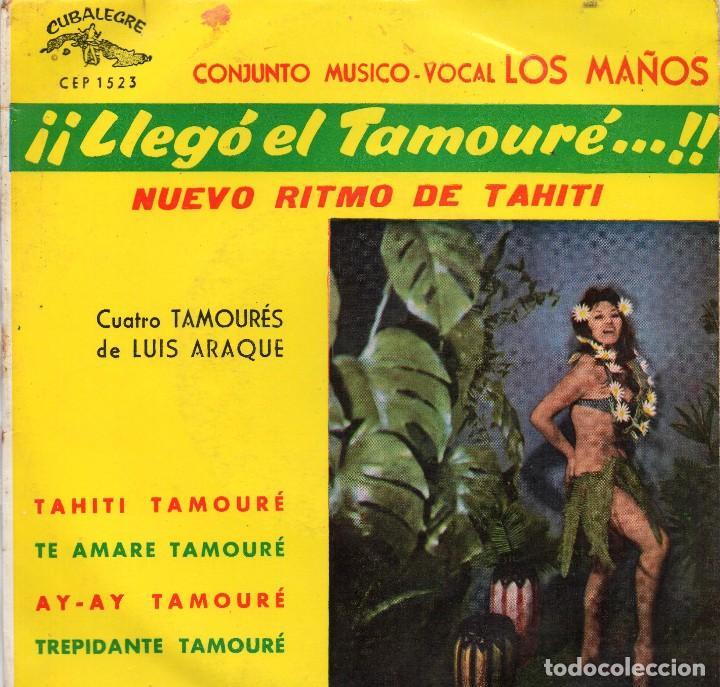 CONJUNTO MUSICO-VOCAL LOS MAÑOS - EP 1963 - NUEVO RITMO DE TAHITÍ (Música - Discos de Vinilo - EPs - Otros estilos)