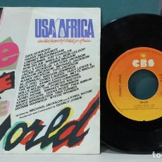 Discos de vinilo: USA FOR AFRICA. WE ARE THE WORLD. Lote 103572515