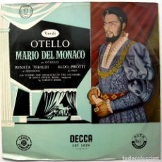 Discos de vinilo: VERDI - OTELLO (DISCO 1 DE 3 DISCOS) - ALBERTO EREDE - LP DECCA 1955 BPY. Lote 103575719
