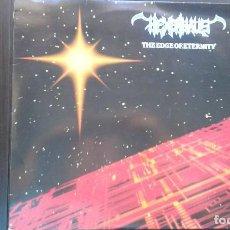 Discos de vinilo: DISCO VINILO LP HEAVY METAL EXENHAUS GRUPO SUECO MUY DIFÍCIL 1989-90 THE EDGE OF ETERNITY . Lote 103578011