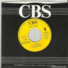 Discos de vinilo: PUBLIC ENEMY SINGLE PROMOCIONAL POR UNA SOLA CARA 911 IS A JOKE ESPAÑA 1990-RAREZA. Lote 103581999