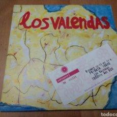 Discos de vinilo: LOS VALENDAS SINGLE + ENTRADA -LONESOME CLOWNS/ICE-CREAM WORLD. Lote 103582042