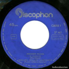 Discos de vinilo: EDUARDO TEJADA ‎– YESTERDAY (THE BEATLES) - EP SPAIN 1965 - DISCOPHON 27.461 . Lote 103594447