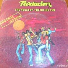 Discos de vinilo: REVELACION - THE HOUSE OF THE RISING SUN / CROCOS DANCE -. Lote 103598715