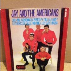 Discos de vinilo: JAY AND THE AMERICANS / CARA MÍA / EP / UNITED ARTIST-1965 / MARCAS DE USO. ***/**. Lote 103612635