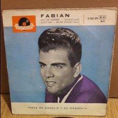 Discos de vinilo: FABIAN / SOY UN HOMBRE / EP-POLYDOR-1959 / BC. ***/***. Lote 103614575