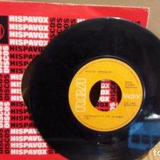 Discos de vinilo: ELVIS PRESLEY / MAMA LIKED THE ROSES / SINGLE-RCA-1970 / MBC. ***/***. Lote 103616455