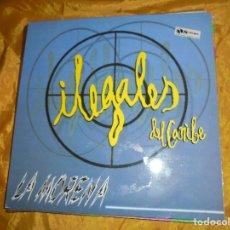 Discos de vinilo: ILEGALES DEL CARIBE. LA MORENA. ARIOLA 1996. MAXI-SINGLE. IMPECABLE. Lote 103620767