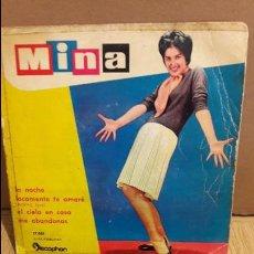 Discos de vinilo: MINA / LA NOCHE. EP / DISCOPHON-1960. **/***. Lote 103621239