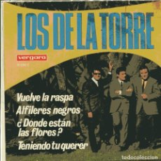 Discos de vinilo: LOS DE LA TORRE / VUELVE LA RASPA + 3 (EP 1968). Lote 103624531