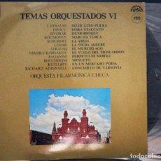 Discos de vinilo: REGALA-TE MÚSICA CLÁSICA: *TEMAS ORQUESTADOS VI* ORQUESTA FILARMÓNICA CHECA Nº189. Lote 103625083