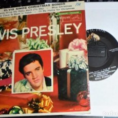 Discos de vinilo: ELVIS PRESLEY - SINGS CHRISTMAS SONGS (EPA-4108) USA-1957 ORIGINAL. Lote 103625787