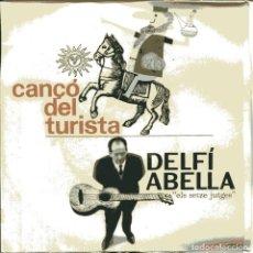 Discos de vinilo: DELFI ABELLA / CANÇO DEL TURISTA / CANCÇO DEL COR ENDURIT + 2 (EP 1963). Lote 103625959
