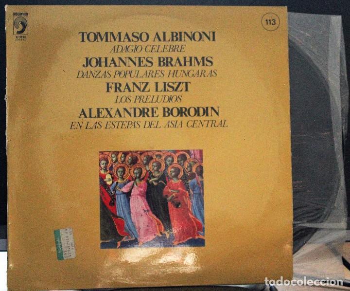 REGALA-TE MÚSICA CLÁSICA: *FAMOSAS OBRAS ORQUESTALES V* Nº 113 (Música - Discos de Vinilo - Maxi Singles - Clásica, Ópera, Zarzuela y Marchas)