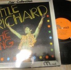 Discos de vinilo: LITTLE RICHARD THE KING STAR COLLECTION.. Lote 103573183