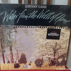 Discos de vinilo: JOHNNY CASH- PAUL MCCARTNEY- BEATLES - WATER FROM THE WELLS OF HOME -LP -USA- EXCELENTE ESTADO- 1988. Lote 103629927
