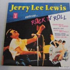 Discos de vinilo: JERRY LEE LEWIS - ESTO ES ROCK 'N' ROLL VOL.2 LP. Lote 103639511