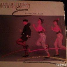 Discos de vinilo: OBJETIVO BIRMANIA - EN UN RINCÓN DEL CORAZÓN + 1 (MX, WEA, 1985) - YA ESCASO. Lote 103660511