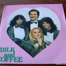 Discos de vinilo: MILK AND COFFEE - TE QUIERO MAS QUE AYER / MARINA - SINGLE EDIGSA AÑO 1982. Lote 103669663