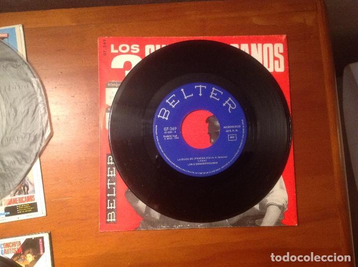 Discos de vinilo: Los 3 Sudamericanos 5 singles 45rpm - Foto 10 - 103678323