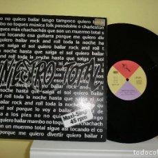 Discos de vinilo: SINIESTRO TOTAL,( QUIERO BAILAR ROCK AND ROLL) ,,MAXI 1987 ,LOTE 268. Lote 103680203