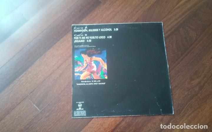 Discos de vinilo: Ramoncin- hormigon,mujeres y alcohol + 2 temas.maxi - Foto 2 - 103684863