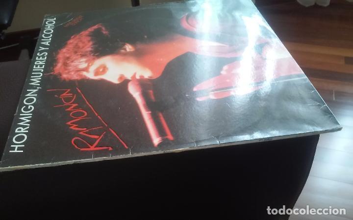 Discos de vinilo: Ramoncin- hormigon,mujeres y alcohol + 2 temas.maxi - Foto 3 - 103684863