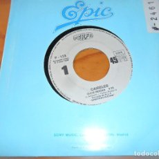 Discos de vinilo: CAIRELES- OJOS VERDES/ DAME DE BEBER - PROMOCIONAL. Lote 103689359