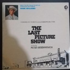 Discos de vinilo: HANK WILLIAMS-THE LAST PICTURE SHOW. Lote 103700619