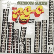 Discos de vinilo: 1910 FRUIT GUM CO. / SIMONS SAYS + 1 (SINGLE 1968). Lote 103702375