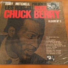 Discos de vinilo: CHUCK BERRY - EDDY MITCHELL PRÉSENTE LES ROIS DU ROCK ÁLBUM 3. Lote 103706959