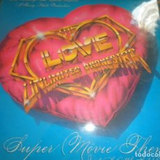 Discos de vinilo: THE LOVE UNLIMITED ORCHESTRA - SUPER MOVIE THEMES LP - ORIGINAL ESPAÑOL - 20TH CENTURY FOX 1979 -. Lote 103707311