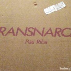 Discos de vinilo: PAU RIBA -TRANSNARCIS- 2 L.P.'S + LIBRO + PERFUMES + CAJA.. Lote 103711855