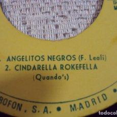 Discos de vinilo: FAUSTO LEALI-- ANGELI NEGRI, 1968 Y CINDERELLA ROCKEFELLA 1968. Lote 103714895