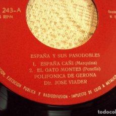 Discos de vinilo: ESPAÑA Y SUS PASODOBLES 1961. Lote 103716023