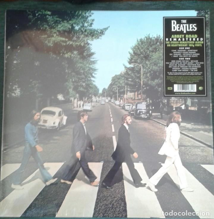 THE BEATLES ABBEY ROAD-LP. REMASTERED 180GM (Música - Discos - LP Vinilo - Pop - Rock Extranjero de los 50 y 60)