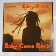 Discos de vinilo: EDDY GRANT / BABY COME BACK / WAR PARTY. TDKDA21. Lote 103717207