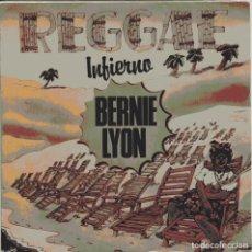 Dischi in vinile: BERNIE LYON / INFIERNO + 1 (SINGLE PROMO 1980). Lote 103717223