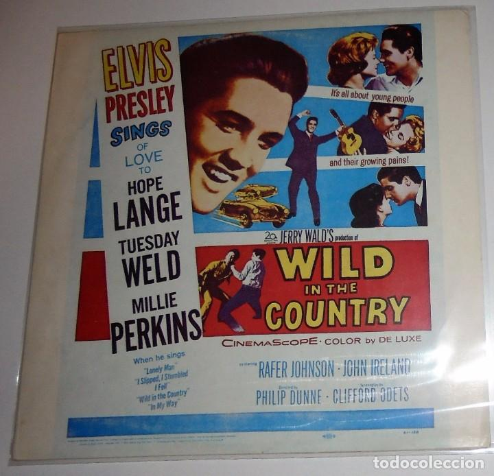 ELVIS PRESLEY - WILD IN THE COUNTRY - LP **SUPER DIFÍCIL** (Música - Discos - LP Vinilo - Bandas Sonoras y Música de Actores )