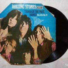 Discos de vinilo: VINILO THE ROLLING STONES 1969, THROUGH THE PAST, DARKLY (BIG HITS VOL. 2). BUEN ESTADO EN GENERAL. Lote 103719399