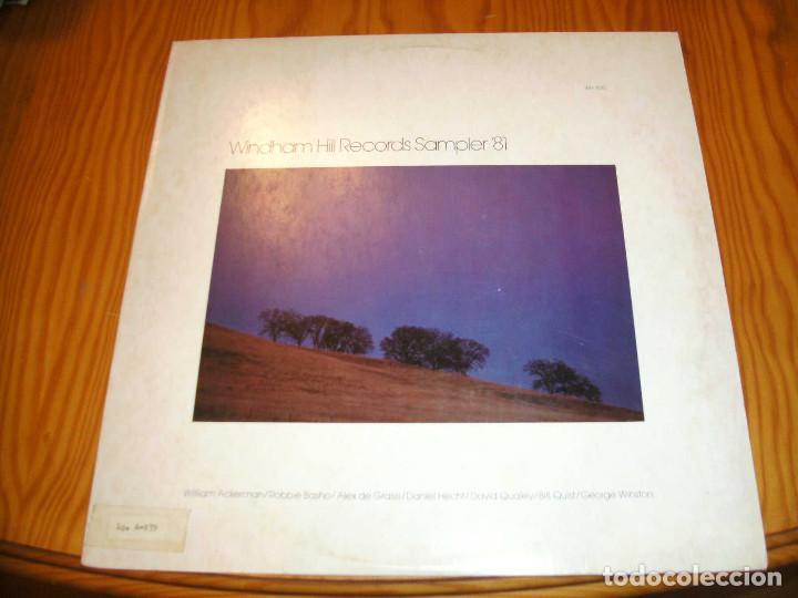 WINDHAM HILL RECORDS SAMPLER´81. LP......................C (Música - Discos - LP Vinilo - Jazz, Jazz-Rock, Blues y R&B)