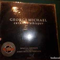 Discos de vinilo: GEORGE MICHAEL - CARELESS WHISER - SPECIAL EDITION INCL. JERRY WEXLER VERSION - MAXI 3 VERSIONES. Lote 103723319